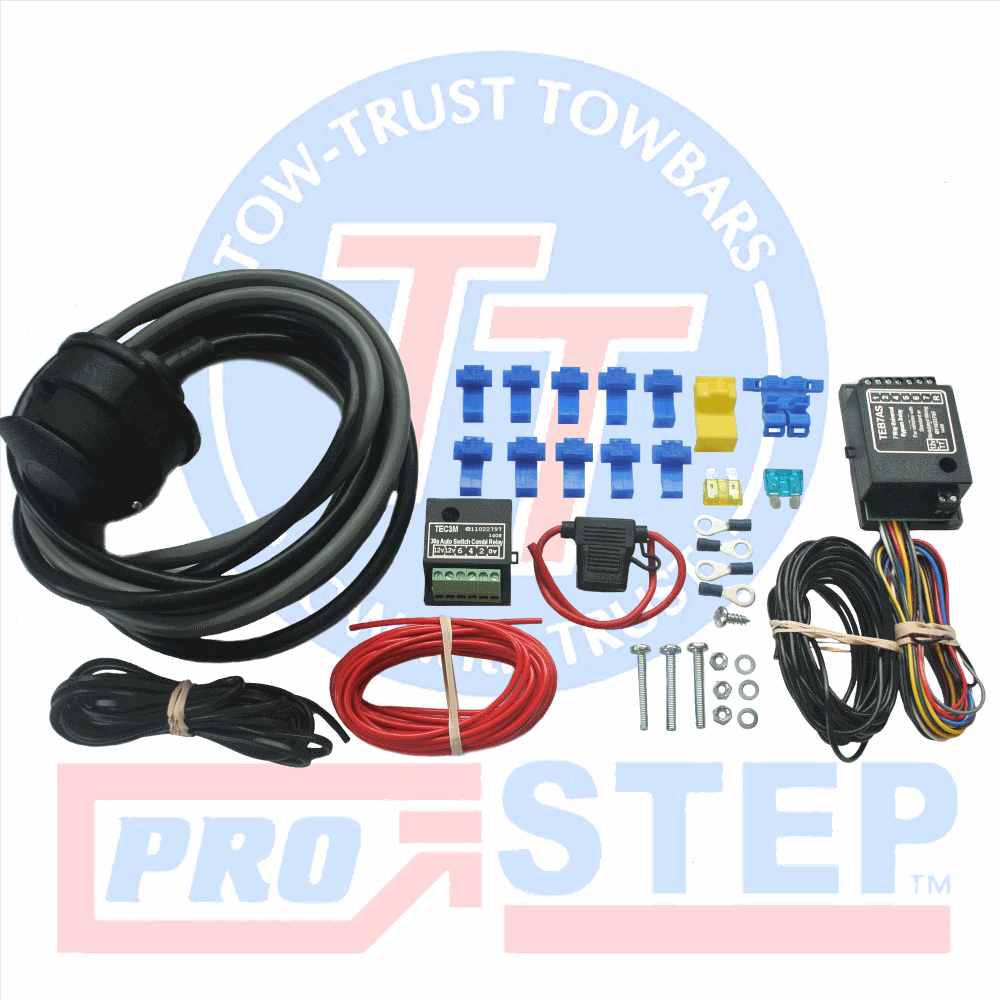 Universal 13 Pin Towbar Towing Electric Kit